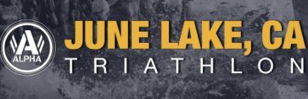June Lake CA Triathlon